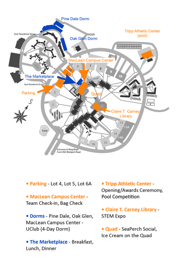 Campus Map - UMassD - Forums