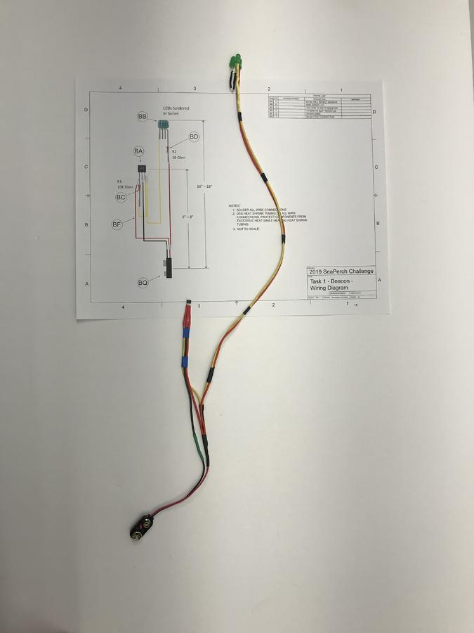 Completed Beacon Circuit